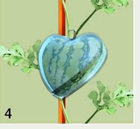 Hasil panen budidaya semangka cinta