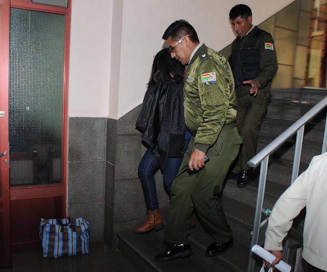 Tellería se suma a la gerente jurídica Cynthia Novillo detenida en Obrajes por la misma causa
