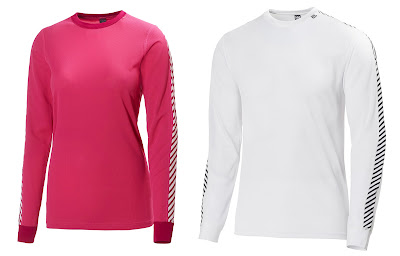 The Helly Hansen HH Dry Technical Base Layer comes in great colors for men, women, and juniors.