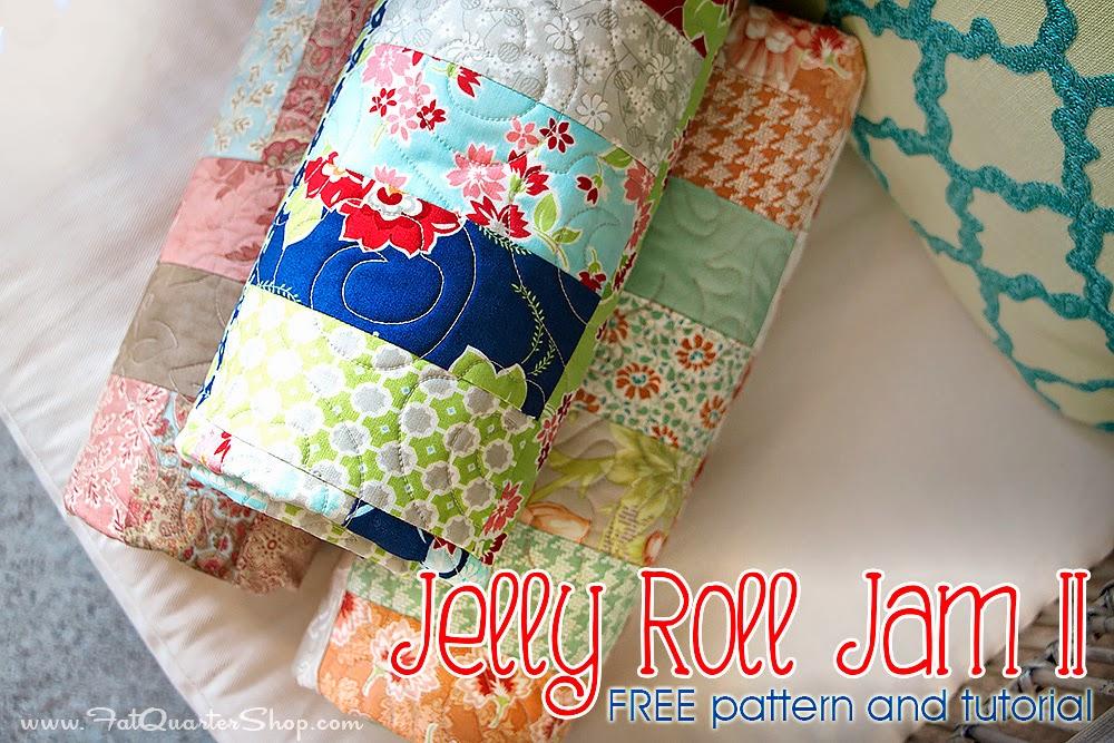 Fat Quarter Shop S Jolly Jabber Jelly Roll Jam Ii Free