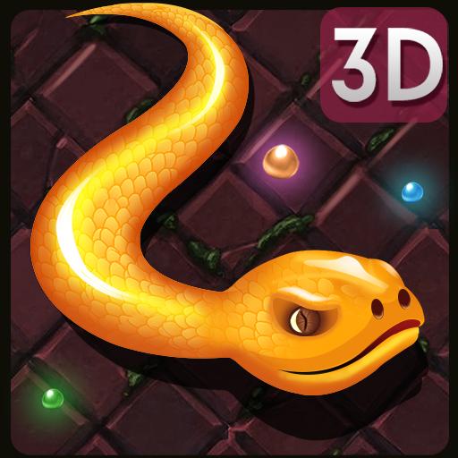 تحميل لعبة 3D Snake io v2.0 مهكرة وكاملة للاندرويد أموال لا تنتهي