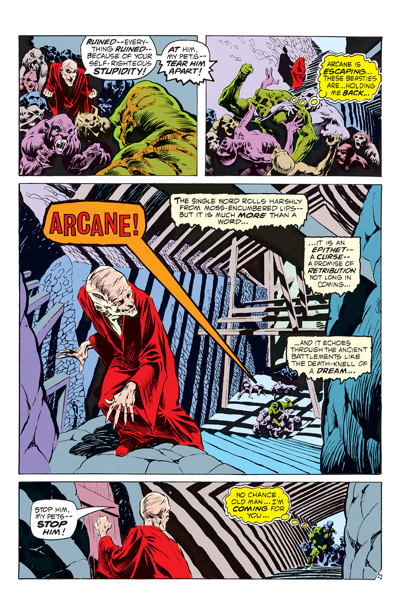 Swamp Thing (1972) Issue #2 #2 - English 23