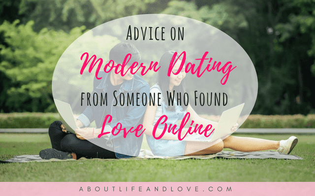 Modern dating advice