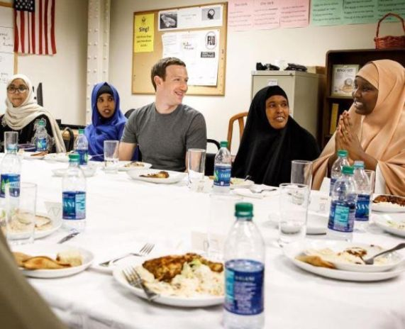 Ramadan: Mark Zuckerberg dines with Somali Refugees in Minneapolis
