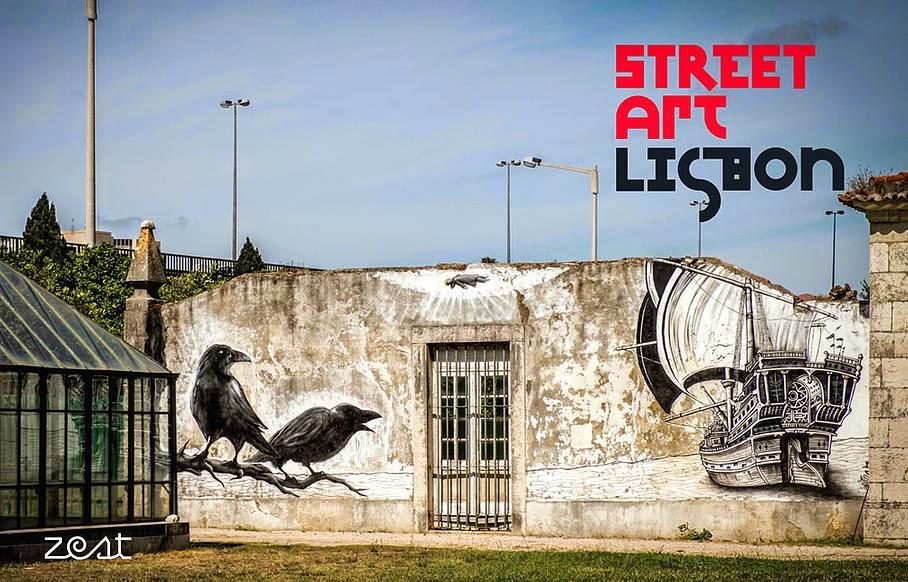 Street Art Lisbon Un Livre Plan Pour Re Decouvrir Lisbonne Luso