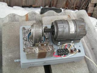 готовый компрессор со снятым кожухом