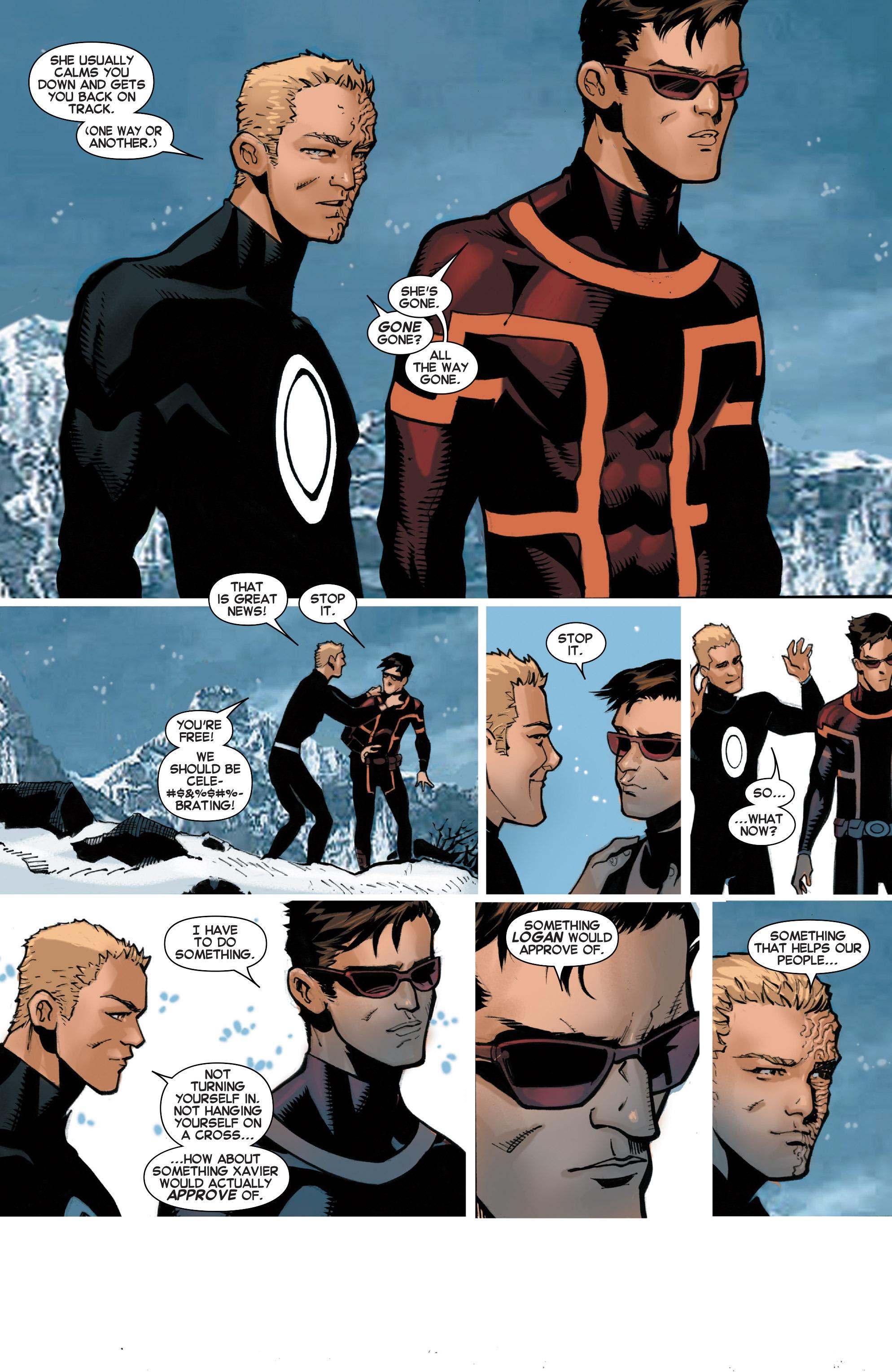 Read online Uncanny X-Men (2013) comic -  Issue #32 - 19