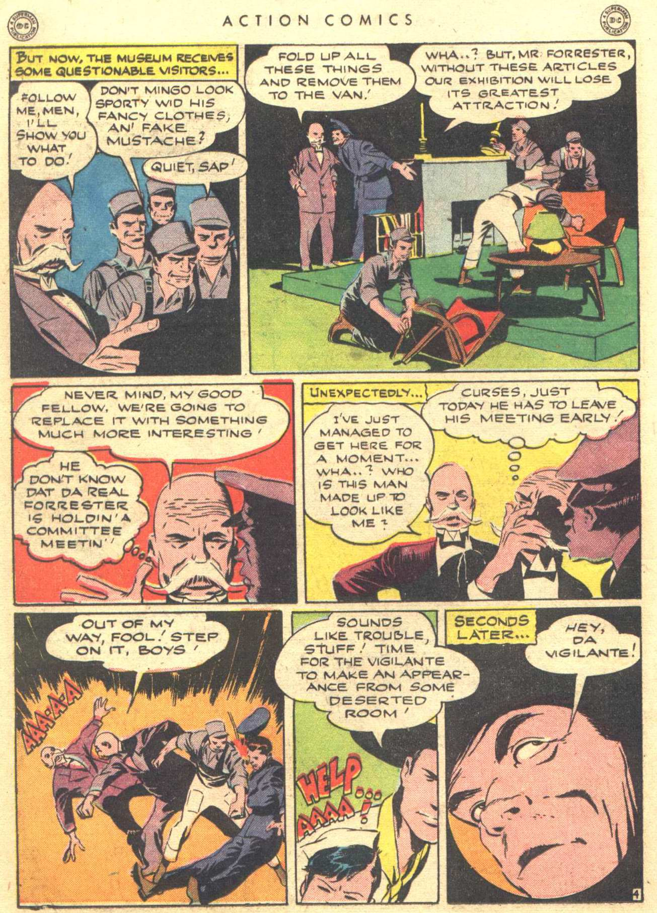 Read online Action Comics (1938) comic -  Issue #81 - 34