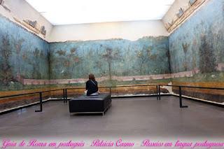 afrescos casa livia turismo roma - Museu Nacional Romano do Palácio Máximo