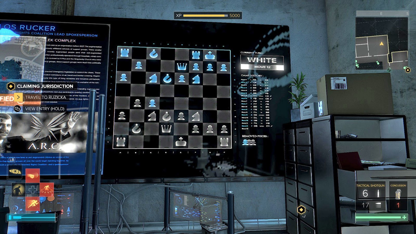 The Games In Video Games Project: Deus Ex Mankind Divided