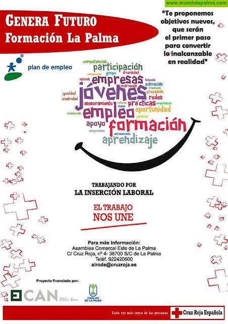Cruz Roja inicia el Proyecto Genera Futuro: Formación La Palma, financiado por FDCAN y el Cabildo Insular