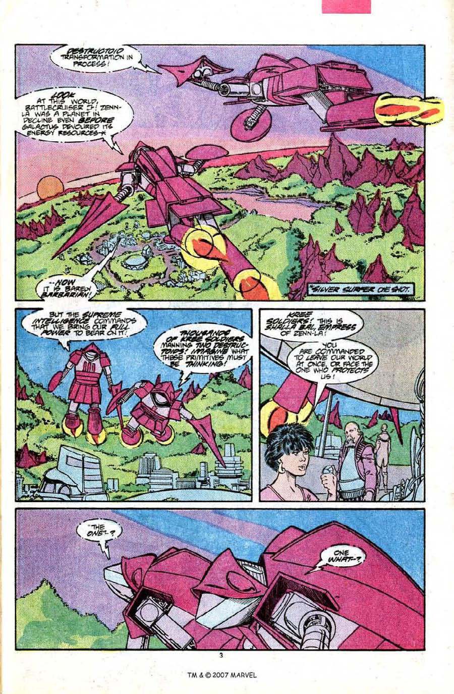 Read online Silver Surfer (1987) comic -  Issue #7 - 5