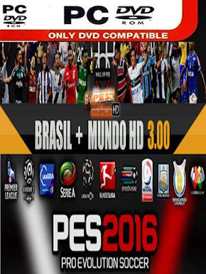 PATCH BMPES 3.00 + MUNDO HD (PES 2016 PC)