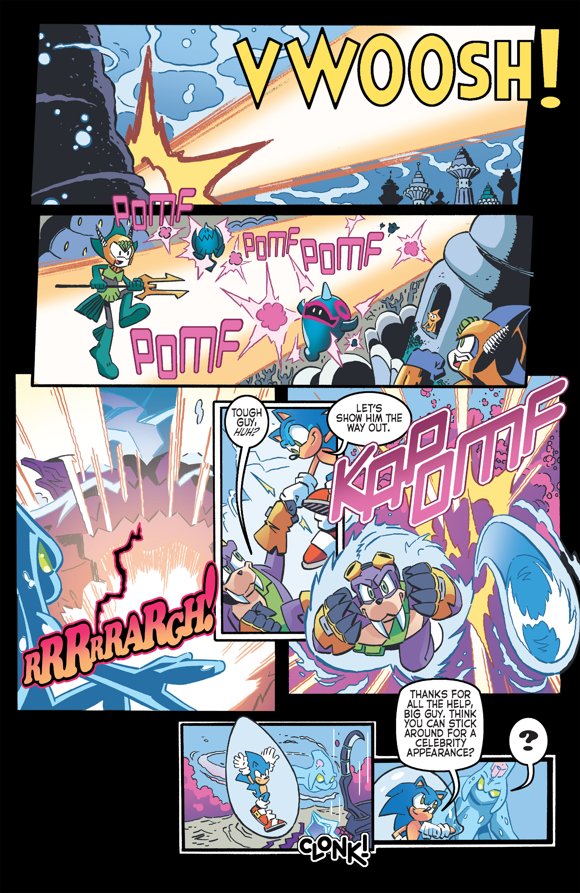 Read online Sonic The Hedgehog comic -  Issue #263 - 12