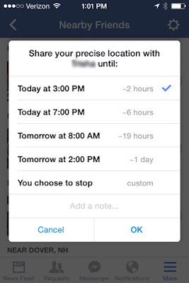 How to Find Out Nearby Friends in Facebook - Near By Friends Location On Facebook
