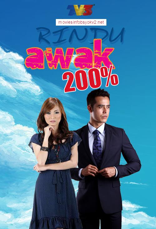 Rindu Awak 200%  Episod 10