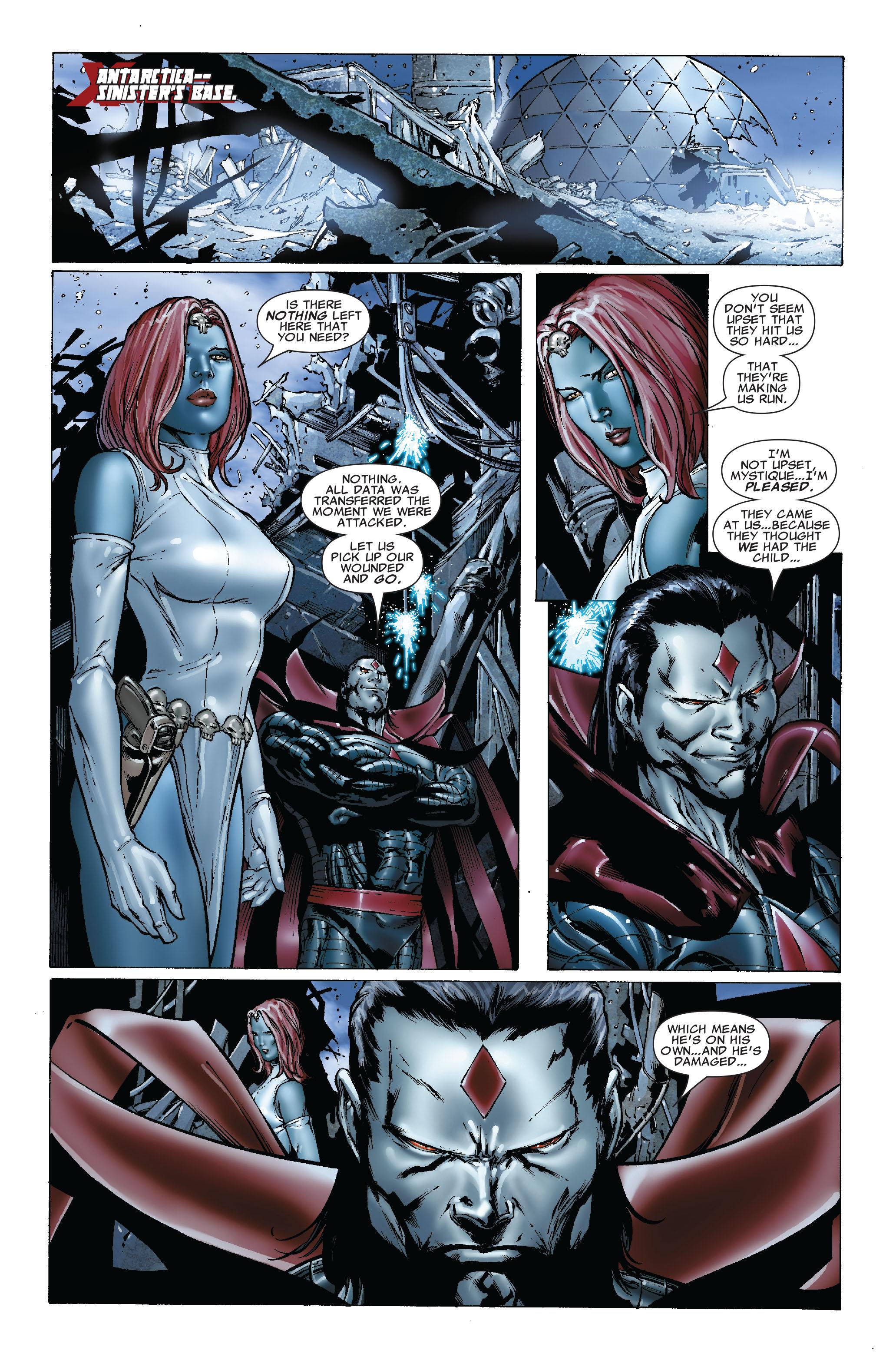 Read online Uncanny X-Men (1963) comic -  Issue #493 - 10