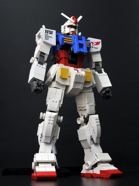 How To Build Lego Gundam