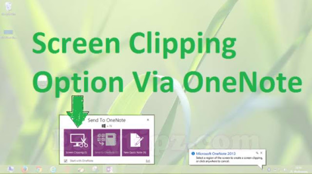 How to Fix the Error Screen Clipping Shortcut in OneNote not working after upgrading to Windows 10