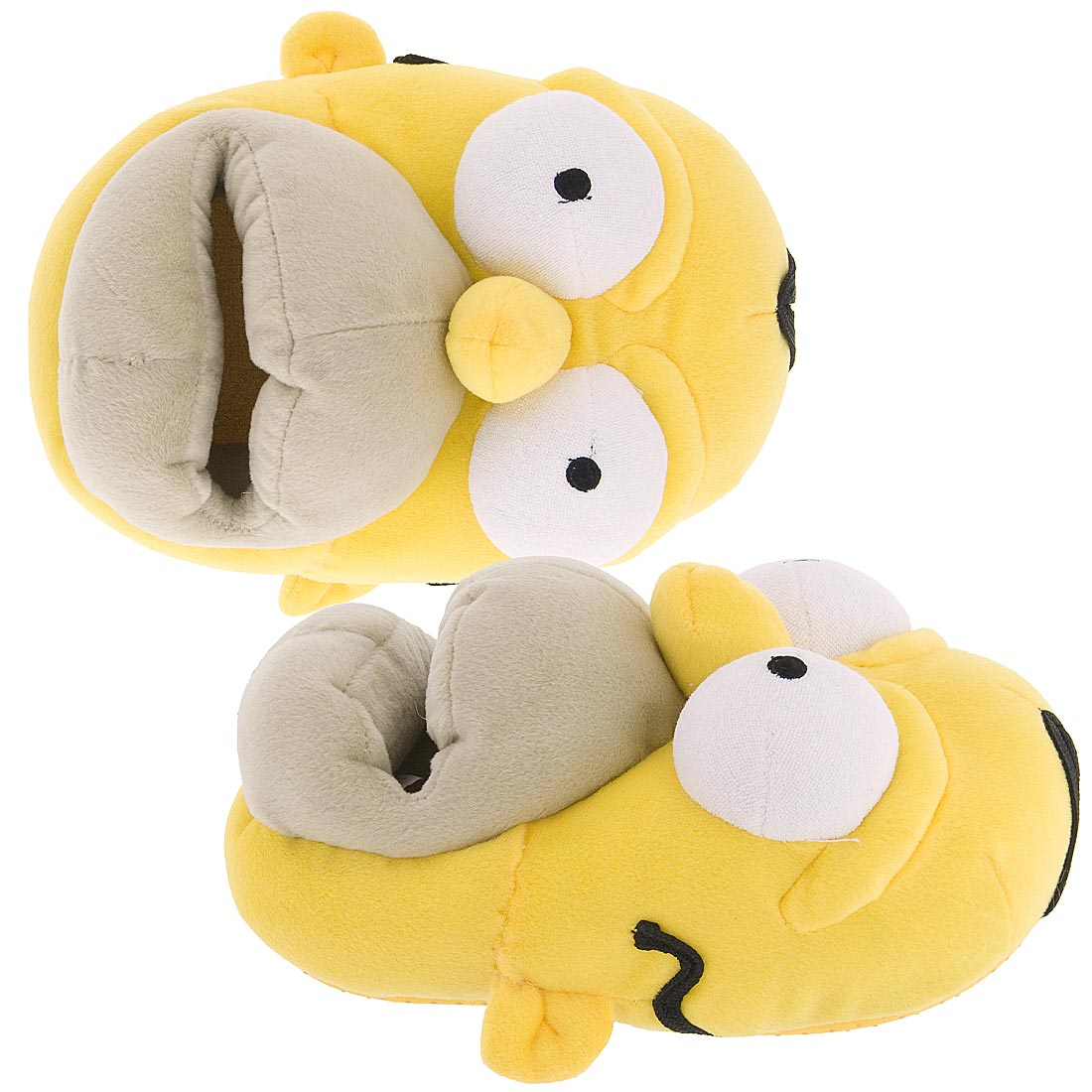 """The Simpsons Homer No Function Men's Slippers. by The Simpsons. $ $ 18 FREE Shipping on eligible orders. Product Features Awesome design inspired by the iconic Homer Simpson and Duff beer. The Simpsons Mens """"Homer Simpson No Function"""" Mule Slippers. by William Lamb."""
