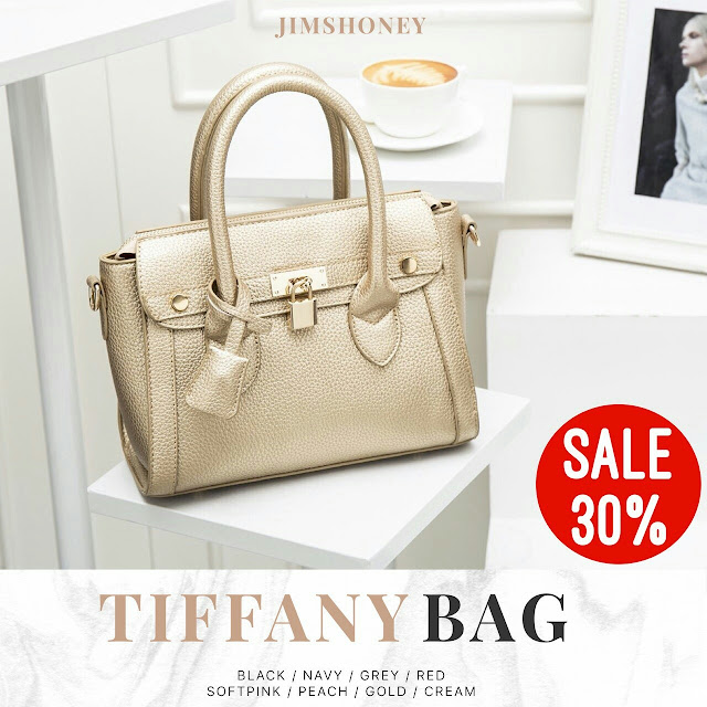 Jims Honey Tiffany Bag Gold