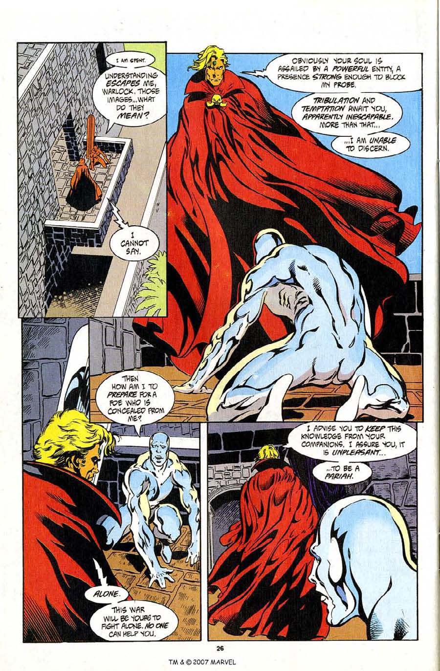 Read online Silver Surfer (1987) comic -  Issue #94 - 28