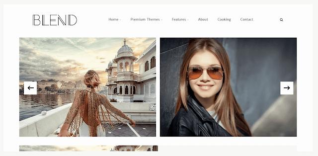 Blend Blogger Template