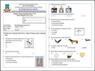 Download Soal Latihan UAS Kelas 2 Semester 2