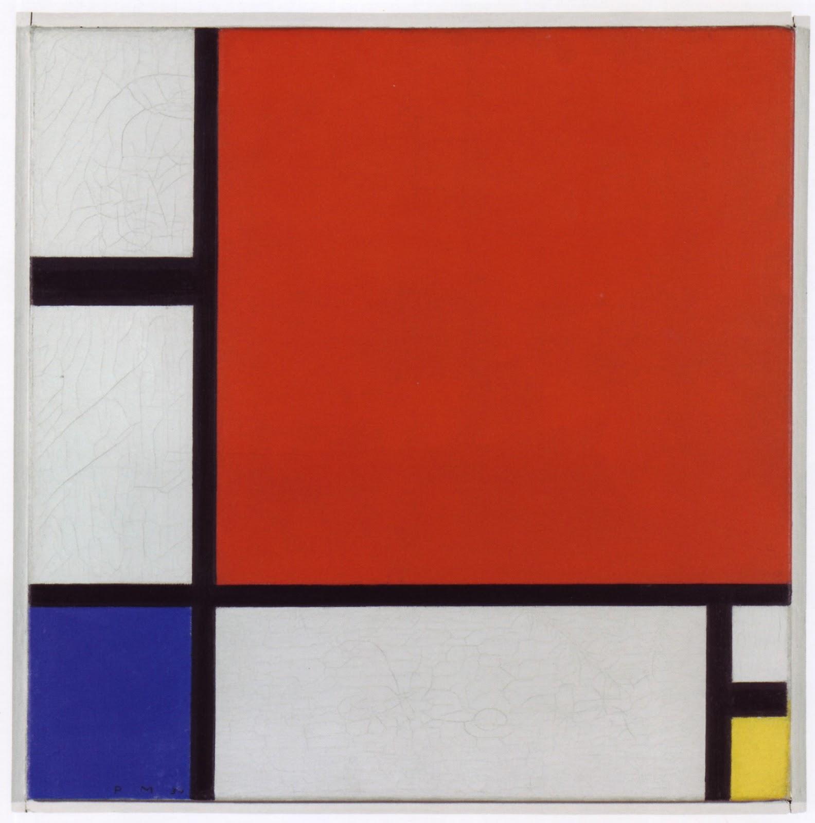 Mondrian vs wesselmann essay