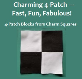 Charm-Square-Four-Patch-Quilting-Video