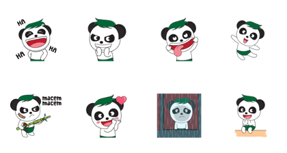 Baby Pandaskee : Cute Face