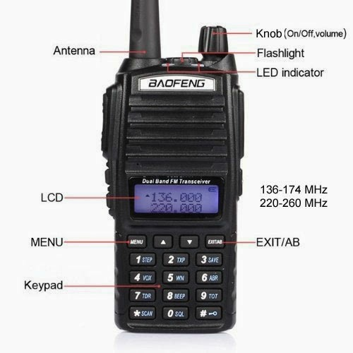 For higher power look for the baofeng BF-F8+ model with 8 WATTS of output power