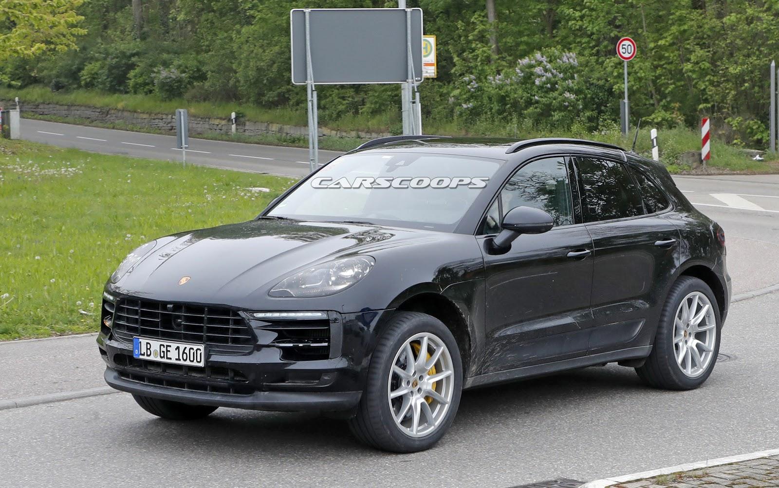 New Porsche Macan 2019 >> 2019 Porsche Macan Facelift (spy shot) - Ms-Blog