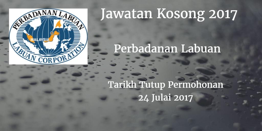 Jawatan Kosong Perbadanan Labuan 24 Julai 2017