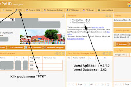Cara / Solusi Kepala Sekolah Belum Dipilih di Aplikasi PAUD Versi 3.1.0 TP. 2017/2018