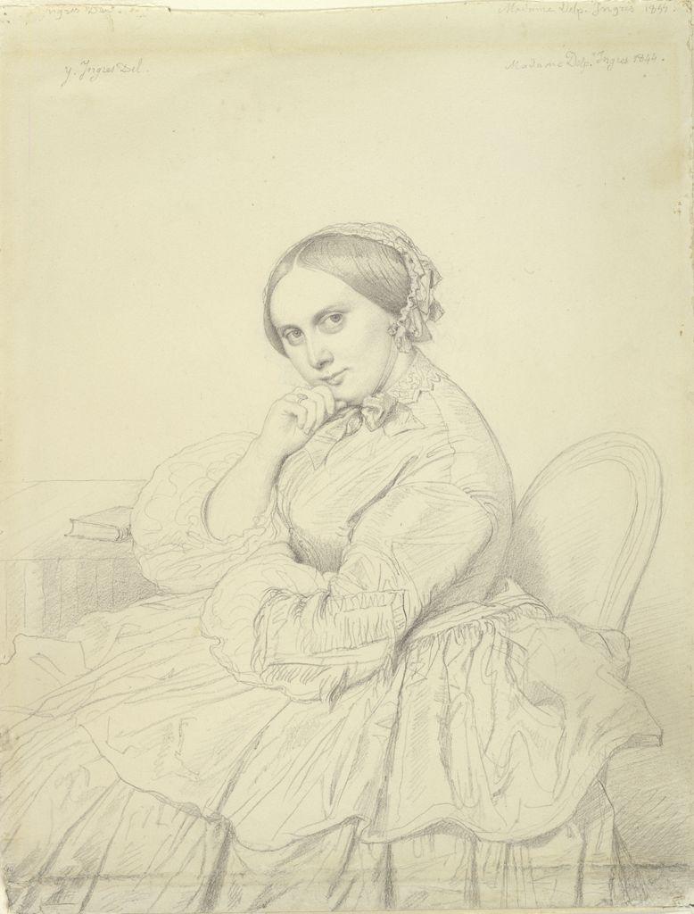 Portrait of Comtesse dHaussonville ~ Jean-Auguste