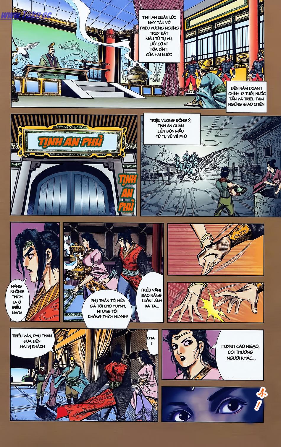 Tần Vương Doanh Chính chapter 2 trang 8