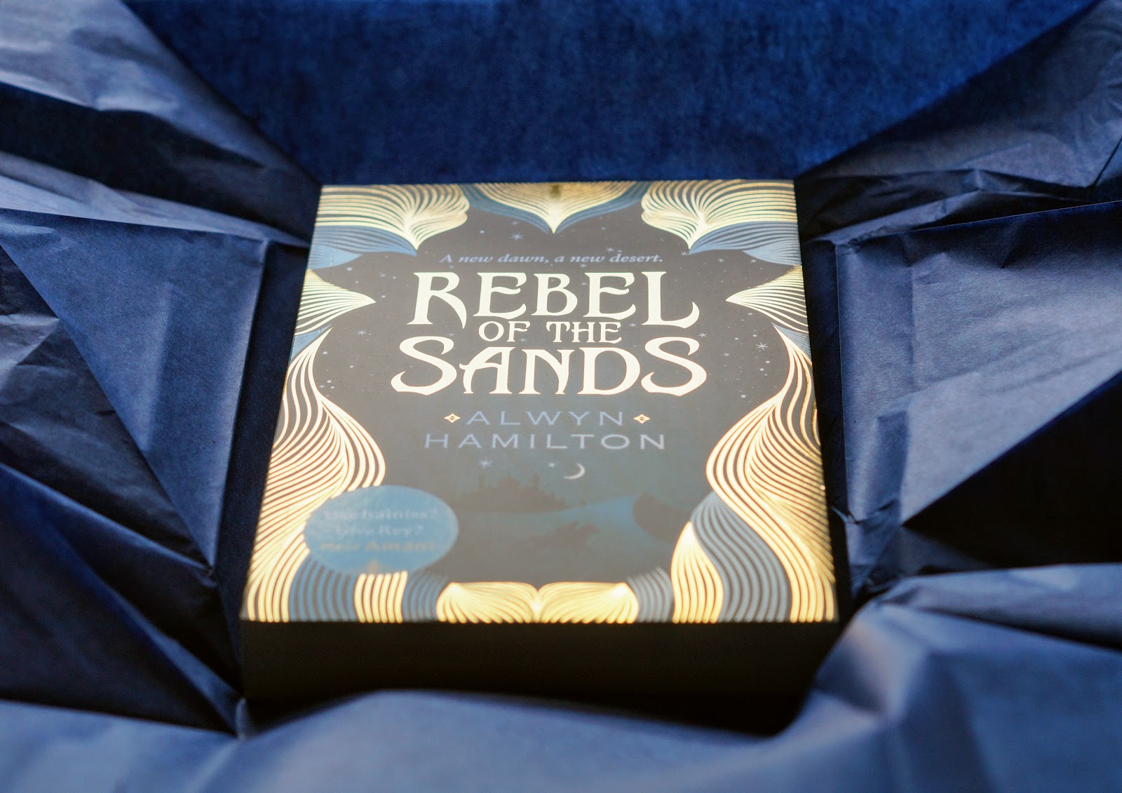 Rebel of the sands book unboxed