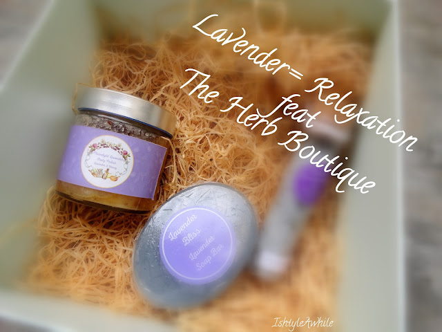 Lavender Showers feat The Herb Boutique image
