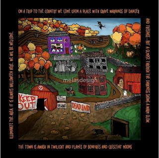 Halloween Dream Town by Melasdesign