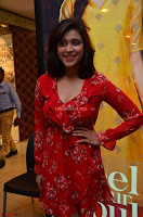 Mannara Chopra in deep neck Short red sleeveless dress Cute Beauty ~  Exclusive Celebrities Galleries 105.JPG