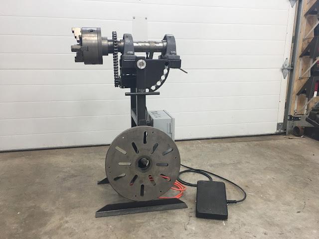 Rotary Weld Positioner Welder Arduino Stepper Motor