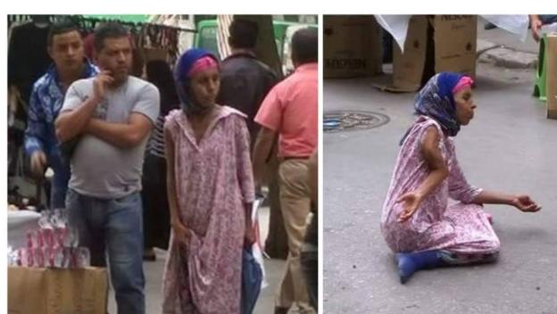 """اليكم قصة هذه المرأة المصرية التي تتسول يومياً تحت حجة...!! رواد """"الفيسبوك"""" فضحوا أمرها وهذا سرها...!! كيف لها القدرة على ذلك؟!"""