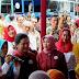 Ibu Negara Iriana Jokowi Kunjungi Pemeriksaan Iva Test di Pasar Tiga Lantai Klaten.