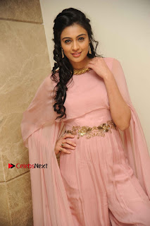 Actress Neha Hinge Stills in a Beautiful Pink Dress at Srivalli Movie Audio Release  0002.jpg