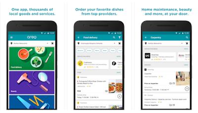 """جوجل تطلق خدمة """"أريو""""لتقديم الطعام والخدمات في الهند"""