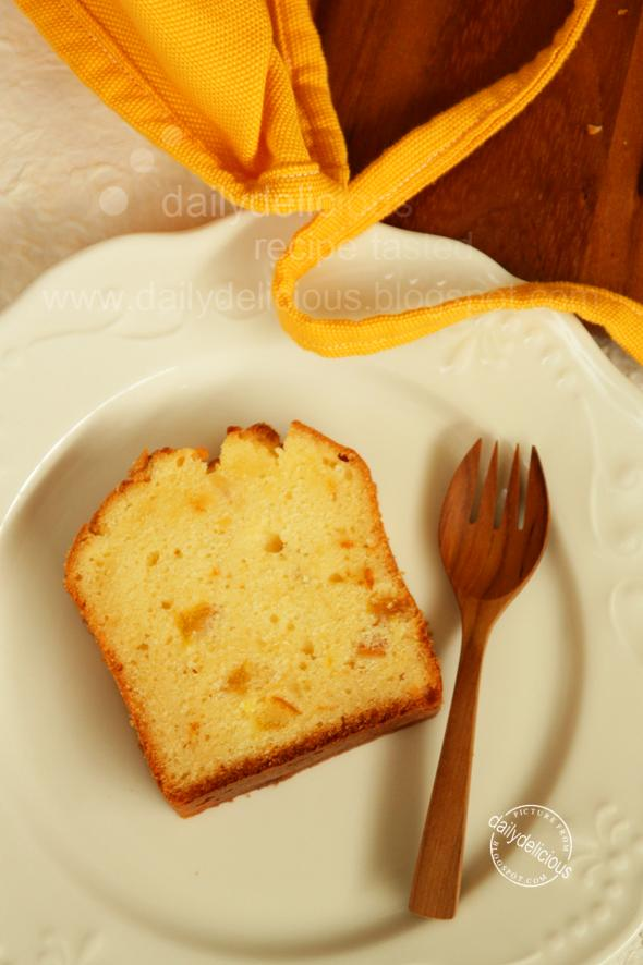 Orange Marmalade Pound Cake