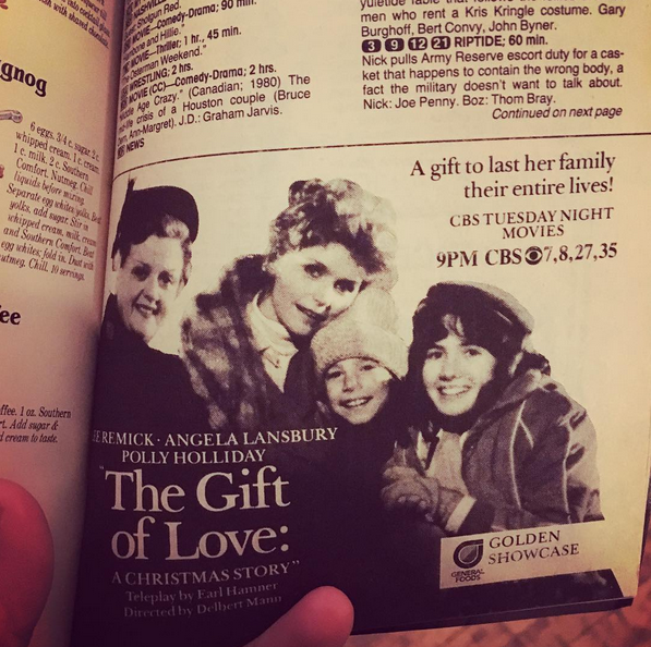 Christmas TV History: The Gift of Love: A Christmas Story movie (1983)