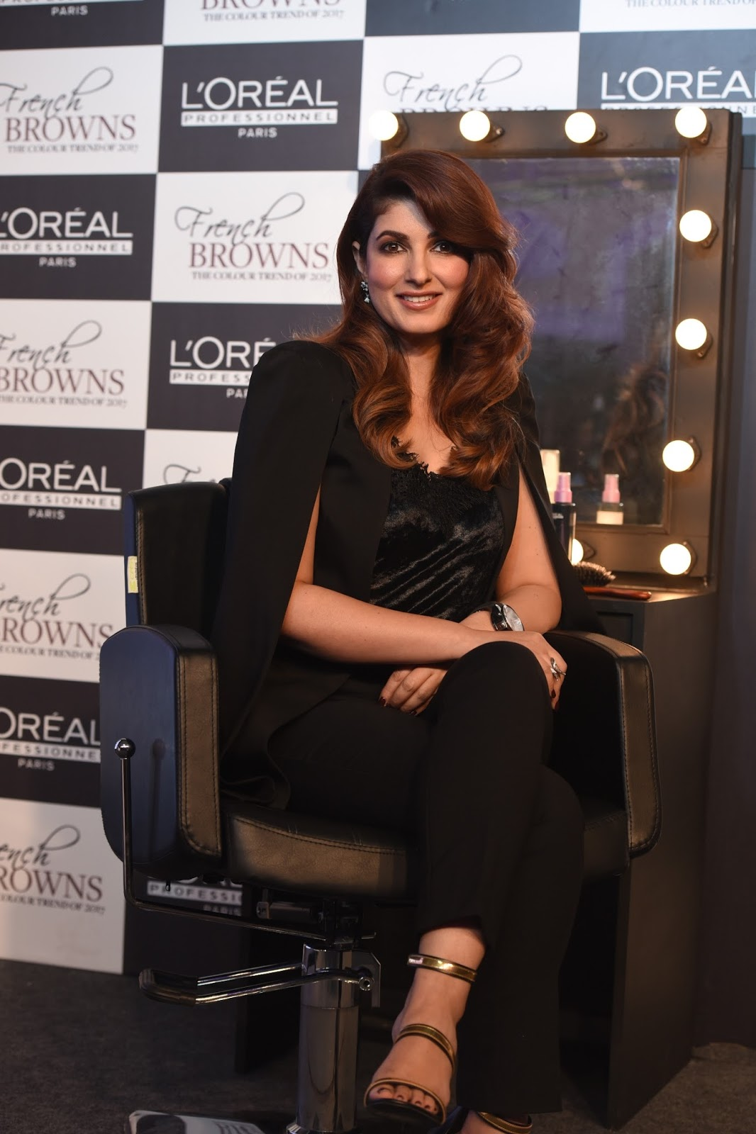 l oreal professionnel unveils the 2017 hair colour trend french browns with twinkle khanna