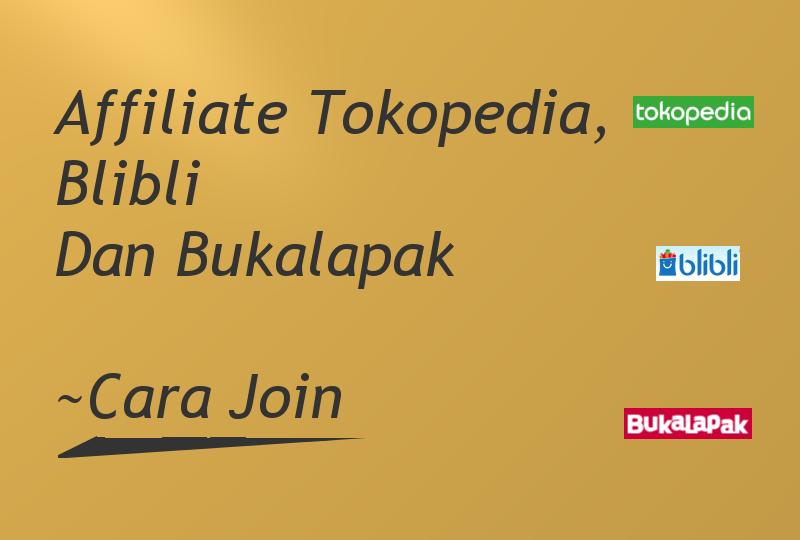 Affiliate Tokopedia